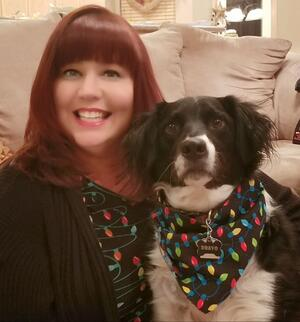 Marsha & Her Dog