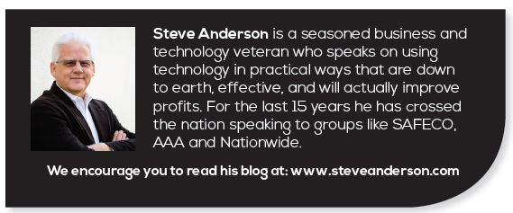 Steve Anderson_ Insurance Agency Technology Presentations, Consulting, Products and Resources