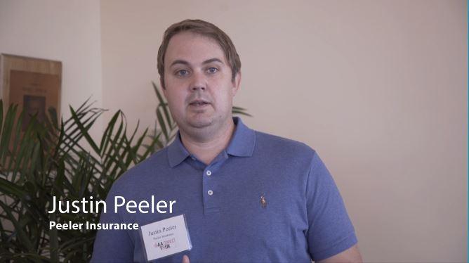 still shot of justin peeler from video